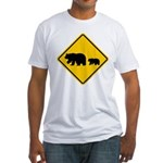 Bear Migration CA Fitted T-Shirt
