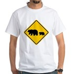 Bear Migration CA White T-Shirt