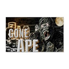 gone ape 22x14 Wall Peel