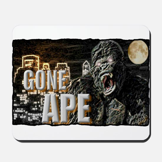 gone ape Mousepad