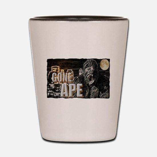 gone ape Shot Glass