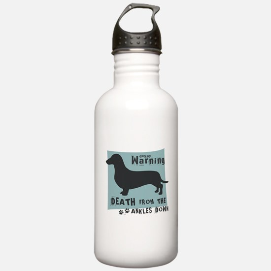 Doxie Warning Water Bottle
