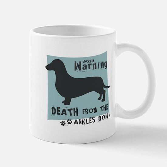 Doxie Warning Mug