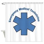 EMT Emergency Shower Curtain