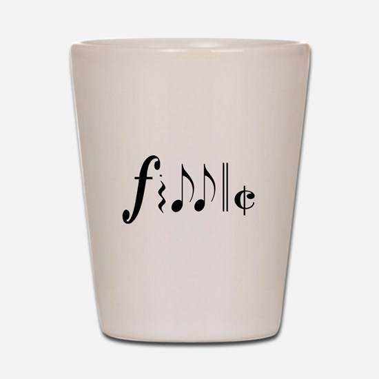 Great NEW fiddle design! Shot Glass