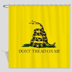 Gadsden Flag Shower Curtain