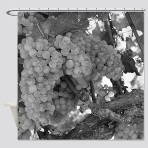 Grapes As Art Shower Curtain