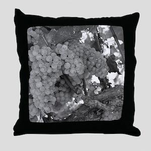 Grapes As Art Throw Pillow
