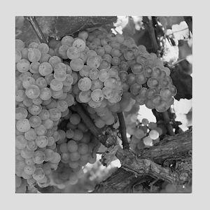 Grapes As Art Tile Coaster