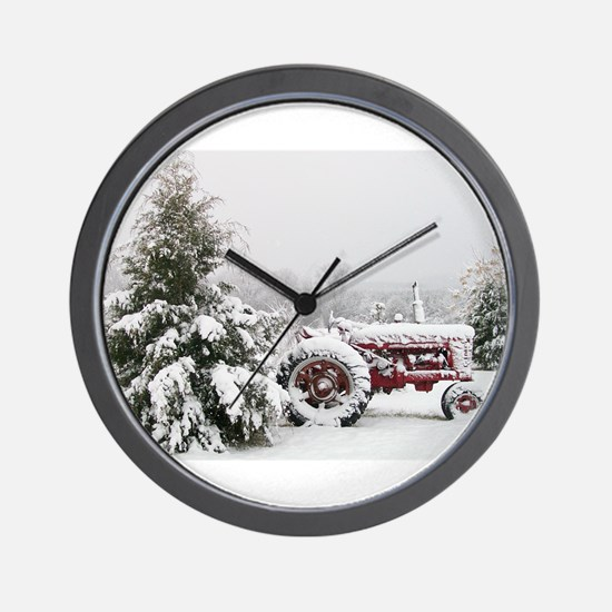 Farmall Wall Clock