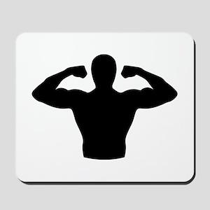 Bodybuilding muscles Mousepad