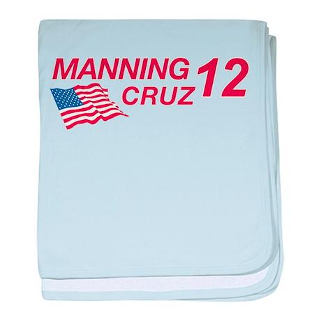 Manning/Cruz 2012 baby blanket