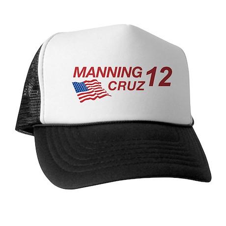 Manning/Cruz 2012 Trucker Hat