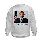 Custom Photo Design Kids Sweatshirt
