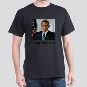 Custom Photo Design Dark T-Shirt