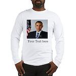 Custom Photo Design Long Sleeve T-Shirt