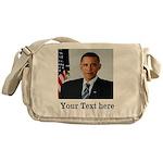 Custom Photo Design Messenger Bag