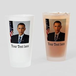 Custom Photo Design Drinking Glass