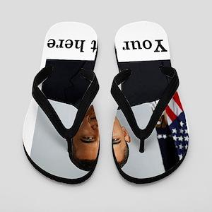 Custom Photo Design Flip Flops
