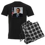 Custom Photo Design Men's Dark Pajamas