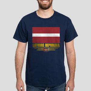 """Latvia Pride"" Dark T-Shirt"