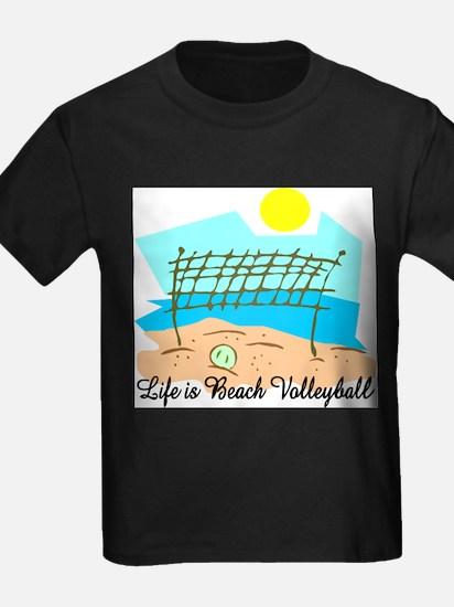 Beach Volleyball Ash Grey T-Shirt