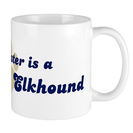 My Sister: Norwegian Elkhound Mug