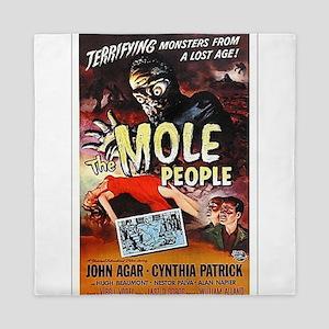 The Mole People Queen Duvet