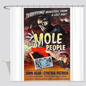 The Mole People Shower Curtain