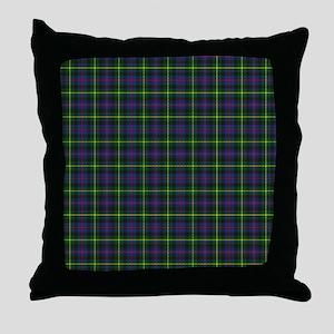 Tartan - Farquharson Throw Pillow