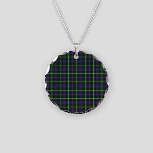 Tartan - Farquharson Necklace Circle Charm