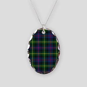 Tartan - Farquharson Necklace Oval Charm