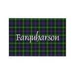 Tartan - Farquharson Rectangle Magnet