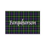 Tartan - Farquharson Rectangle Magnet (10 pack)