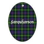 Tartan - Farquharson Ornament (Oval)