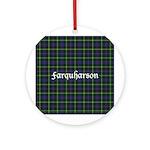 Tartan - Farquharson Ornament (Round)