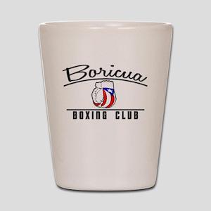 Boricua Boxing Club Shot Glass