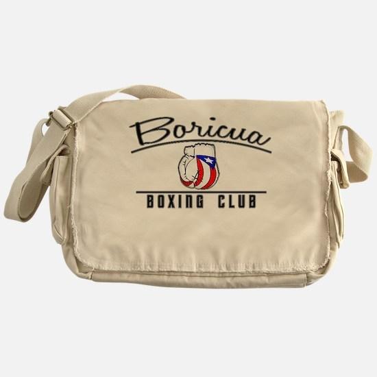 Boricua Boxing Club Messenger Bag