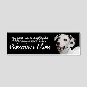Dalmatian Mom Car Magnet 10 x 3