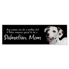 Dalmatian Mom Sticker (Bumper)