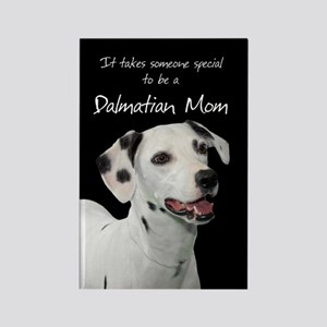 Dalmatian Mom Rectangle Magnet
