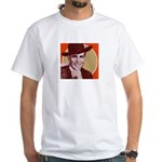 Bob Wills Classic Two Sided White T-Shirt