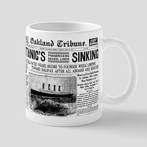 Passengers Saved, Liner Sinking Mug