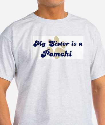 My Sister: Pomchi Ash Grey T-Shirt