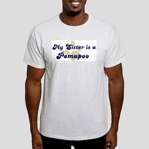 My Sister: Pomapoo Ash Grey T-Shirt