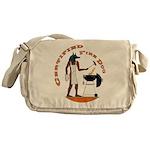 Fire Dog Messenger Bag