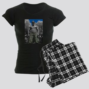 Phantom Body Women's Dark Pajamas