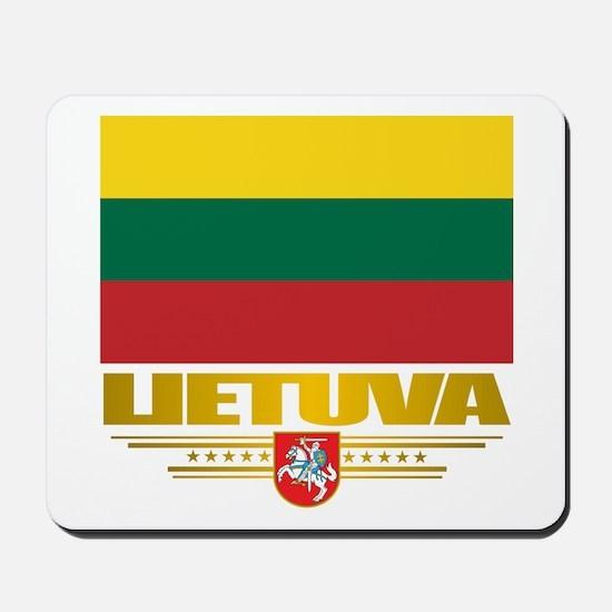 """""""Lithuania Pride"""" Mousepad"""
