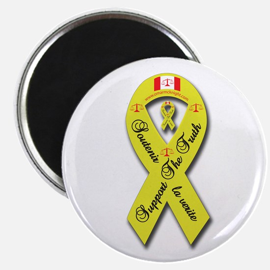"Support The Truth Ribbon 2.25"" Magnet (10 pack)"