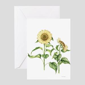 Sunflower Botanical Greeting Card
